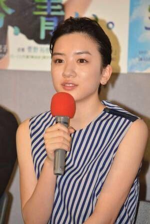 永野芽郁/連続テレビ小説「半分、青い。」第1週完成試写会