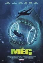 絶体絶命!超巨大ザメに飲み込まれる…『MEG ザ・モンスター』US版新ポスター公開