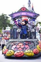 """【ディズニー】ミッキー早着替えも披露!35周年のDハロ開幕!初登場「スプーキー""""Boo!""""パレード」"""