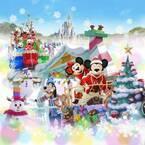 【ディズニー】JALがクリスマス時期限定の恒例パレードに、5度目の協賛