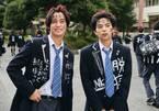 佐藤勝利&高橋海人、制服とヘアスタイルが自由すぎる! 『ブラック校則』初場面写真