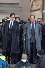 『バットマン』撮影現場にコリン・ファレルもいたことが判明…メイクで別人に