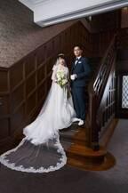 門脇麦、麗しいウエディングドレス姿に!高良健吾ら親族一同を捉えた本編映像も『あのこは貴族』