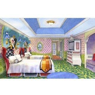 """東京ディズニーランドホテル、""""アリスルーム""""など映画の世界広がる客室新設"""