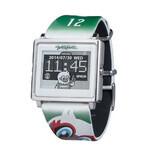 エプソン、松本山雅FC ガンズくんの顔が描かれた腕時計「Smart Canvas」