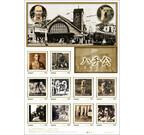 東京都渋谷区の郵便局で「忠犬ハチ公」の切手が販売中