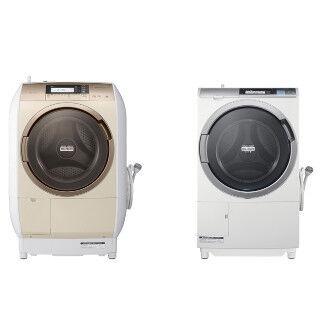 日立、ごわごわしない洗い上がりのドラム式洗濯乾燥機「ビッグドラム」