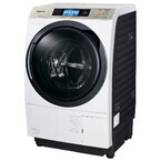 パナソニック、40度つけおき洗いで黄ばみ汚れを落とすドラム式洗濯乾燥機