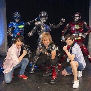 『仮面ライダー鎧武』ロシュオの声は口にティッシュ!? 福沢博文、中田譲治、串田アキラも登場した『仮面ラジレンジャー』公開録音