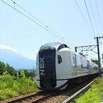 特急「成田エクスプレス」富士急行線河口湖駅への直通運転を11月末まで延長