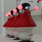 村田製作所の新型ロボットは「チアリーディング部」、CEATECで出展へ