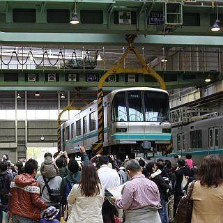 東京メトロ「メトロファミリーパーク in AYASE」11/9開催、臨時列車運行も