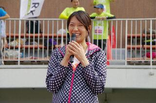 市民参加型の運動祭「ザ・コーポレートゲームズ 東京 2014」に浅尾美和登場