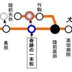 JR東日本、大船渡線BRT臨時駅「奇跡の一本松駅」常設化 - 運賃が一部改定に
