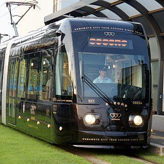 熊本市交通局「COCORO」水戸岡デザインの新型超低床電車、10/3から運行開始