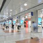 JR名古屋駅のデジタルサイネージ、シャープがディスプレイを納入