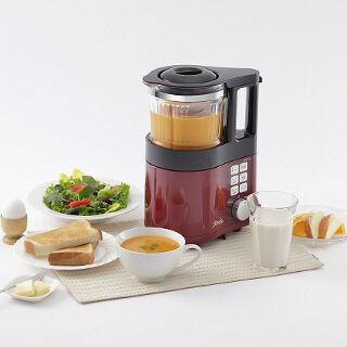 ボタンを押すだけのスープメーカー「ビタリエ」 - 豆乳調理機能を追加