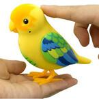 セガトイズ、手のひらで歌ってくれる小鳥型トイ「おしゃべりピーちゃん。」