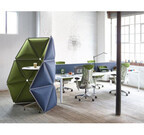 仕事に集中、自分スペースを作れる仕切り「キヴォ」発売 - ハーマンミラー