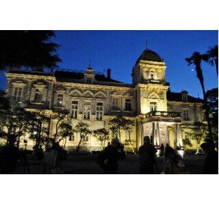 東京都台東区の「旧岩崎邸庭園」の洋館をライトアップ、コンサートも開催
