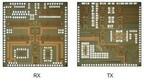 富士通研、ミリ波レーダの低コスト化が図れるCMOS送受信チップを試作