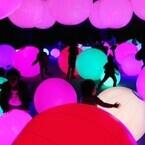 東京都・日本科学未来館でチームラボの作品を体感できる