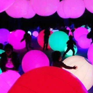 """東京都・日本科学未来館でチームラボの作品を体感できる""""アート展&遊園地"""""""