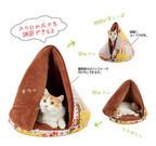テント型の猫用ベッドが可愛い!!