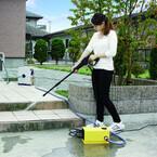 アイリスオーヤマ、収納性に優れたコンパクトな高圧洗浄機2モデル