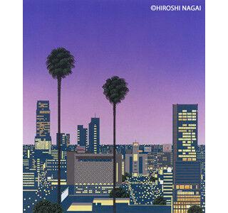 東京都・渋谷でイラストレーター・永井博氏のアート展 - 描きおろし新作も