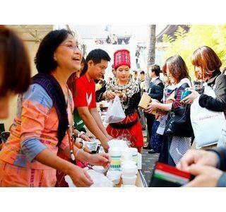 東京都港区で「ミャンマー祭り」開催 - ミャンマーの朝ごはんや国技も披露