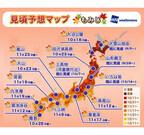 本格的な紅葉シーズン到来、見頃時期は? - 東日本、西日本は10月下旬頃か