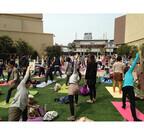 大阪府大阪市で日本最大級のヨガフェスタ開催 - 無料レッスンも実施