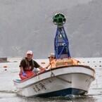 船から撮影の「海からのストリートビュー」に、夏から秋の三陸海岸を追加