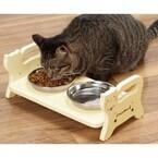 猫のちゃぶ台返し対策にぴったりな猫用ダイニングテーブル