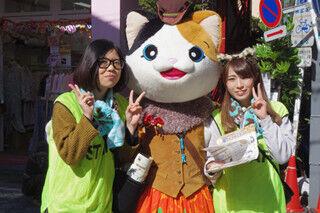 東京都・高円寺で、猫イベント「にゃんこエイド」が開催