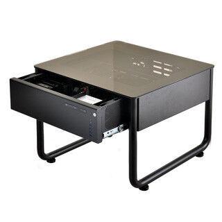 """Lian Li、机型PCケースに小型モデル - """"座卓型""""もラインナップに追加"""