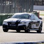 ドイツ・アウディ「RS 7 自動運転コンセプト」がレーストラックで無人走行