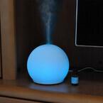 ドリテック、7色に光る丸いフォルムのアロマディフューザー