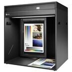 EIZO、高演色5,000K蛍光灯を備えたボックス型の色評価用ブース