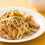 もやしを使った絶品節約レシピ (4) 豚キムチにもやしをプラスでひと工夫!