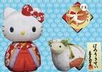 久月人形学院、キティちゃんの木目込人形手づくりキットなど発売