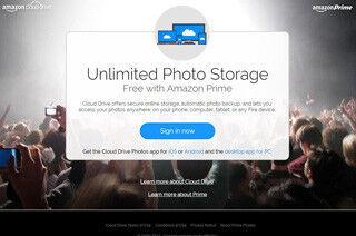 米Amazon、プライム会員向け無制限フォトストレージ「Prime Photos」