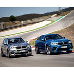 BMW「X5 M」「X6 M」フルモデルチェンジ - 最高出力575PSのエンジンを搭載