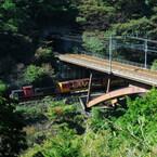 関西オモシロ鉄道の旅 (28) 京都の紅葉シーズン到来! 嵯峨野観光鉄道のトロッコ列車