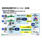 NEC、補修用部品の需要予測ソリューション販売へ - ビッグデータを活用
