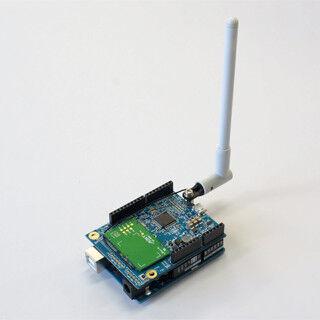エイビット、Arduinoシールド互換のデータ通信端末「PHSシールド」を発表
