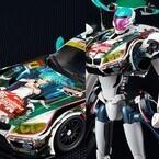 初音ミクがレーシングカーの変形ロボに! 河森正治氏が考案した脅威の新商品