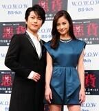 黒木メイサ、初共演の及川光博に「お姫抱っこされてキュンとしちゃった!」