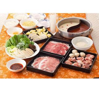 バーミヤンにお肉&定番中華も食べ放題の「プレミアムしゃぶしゃぶ」登場!